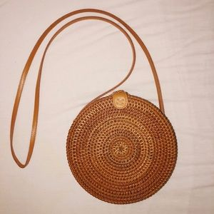 Urban Outfitters Wicker Straw Bag